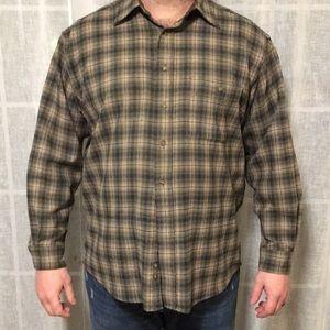 Men's XL Wool Pendleton Button-up shirt.